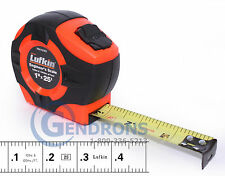 25' LUFKIN PHV1425ED 10TH TAPE MEASURE, SURVEYING,ENGINEERING,TOPCON,SOKKIA
