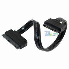 1pc SATA 22 Pin Female to Slim SATA 13 Pin Female Data Cable Serial ATA For DVD