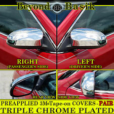 2014-2017 TOYOTA COROLLA Chrome Mirror Covers WithOut Turn Signal L/R Set