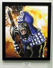 PLANET OF THE APES John Fasano GENERAL URSUS Ltd Edition PRINT Rare SIGNED + #'d