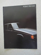 Original 1983 Volvo 760 GLE advertising brochure