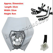 Headlight For Honda XR CRF CR 50 70 80 100 150 200 250 450 Dirt Pit Motor Bike