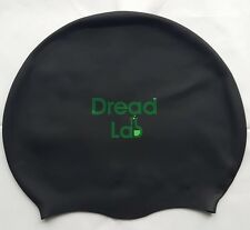 DreadLab - Medium/Large Swim Cap (Black) Dreadlocks/Braids/Weaves/Extensions