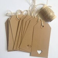 12 Vintage Style Luggage Tags With Heart Wedding, Cards, Wishing Tree, Name Tags