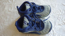 """Boys Child Shoes Reebok IE Athletic Sneakers Size 6 Blue Gray 6.5"""" Long"""