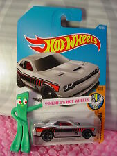'15 DODGE CHALLENGER #48✰silver/red; mc5✰Muscle Mania✰2017 i Hot Wheels Case B/C