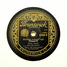"""THE INK SPOTS """"Home Is Where The Heart Is"""" BRUNSWICK 03920 [78 RPM]"""