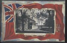 Postcard FREDERICTON New Brunswick/CANADA  Military Officers Quarters 1907