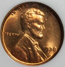 #~☆MS-67 RD☆~ 1938-S Lincoln Wheat Penny NGC LOWEST PRICED ONE on eBay