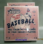 2007 Bowman Heritage MLB Baseball Hobby Box, Factory-Sealed - ROOKIE CARDS!