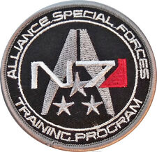 "Mass Effect Alliance Special Forces Logo 3"" Wide Embroidered Patch"