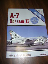 Detail and Scale : A-7 Corsair II Vol. 22 by Bert Kinzey (1986, PB) 1st ED