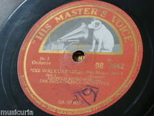 "78rpm 12"" STOKOWSKI - PHILADELPHIA ORCH die valkure : magic fire music DB 3942"