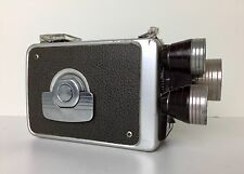 Eastman Kodak Brownie 8mm Movie Camera Turret f/1.9 3 Lens Made in USA 1955