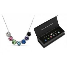 Interchangeable Necklace with Crystals from Swarovski® in Gift Box