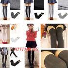 Over The Knee Thigh High Cotton Socks Stockings Leggings Women Ladies Girls G~