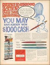 1963 Vintage ad for PARKER Jotter`Photo Pen Cartoon.  (071116)