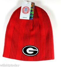 Vintage Collectors 1996 Georgia Bulldogs Ribbed Knit Beanie Hat - Stocking Cap