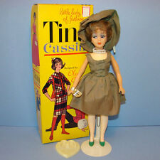 Tina Cassini Fashion Doll Wrist Tag Original Box Outfit Ross Products Book Piece