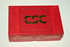 Vintage Box of 9 Titelist #1 CSC Computer Science Ad Golf Balls Unused NOS NEW