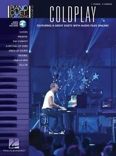 Piano Duet Play-Along COLDPLAY Learn Play YELLOW CLOCKS Music Book Online Audio