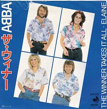 "ABBA ""The Winner Takes It All"" ""Elaine"" Japan Record (Mint-) & Picture Slv (VG+)"