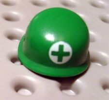 LEGO - Minifig, Headgear Helmet Army with Green Cross in White Circle (Medic)