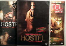 HOSTEL 1-2-3 trilogia completa - Roth 3 DVD