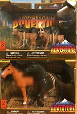 Lot of 2 Tree House Kids Imagination Adventure Series Cows/Horses