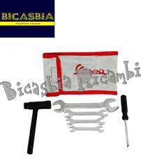 8118 - SACCA ATTREZZI CON 6 ATTREZZI CHIAVE CANDELA VESPA 50 125 150 200