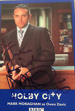 6x4 Hand Signed Photo Holby City Mark Moraghan - Owen Davis Brookside