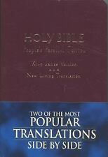 Holy Bible: King James Version, New Living Translation--TBN Parallel Edition (Bu