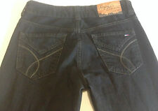 NWOT - RRP $269- Womens Tommy Hilfiger 'Sally Black Coated Bootcut' Jeans