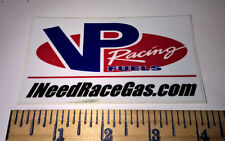 VP RACING FUELS ~ INEEDRACEGAS.COM ~ STICKER ~ DECAL ~ TRUCK CAR NHRA TOOLBOX