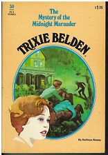 Trixie Belden: The Mystery of the Midnight Marauder No. 30 by Kathryn Kenny (...