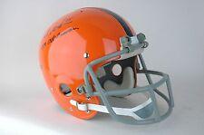 1970s Syracuse Football TK Helmet Signed Art Monk Autographed Redskins