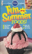 FUN SUMMER FOODS! VINTAGE PILLSBURY COOKBOOK #88 1988 STRAWBERRY BANANA SHAKE