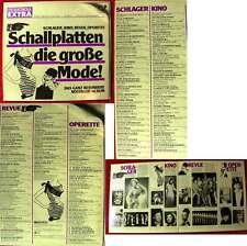 2LP Schallplatten - die große Mode! - Das ganz besondere Nostalgie-Album