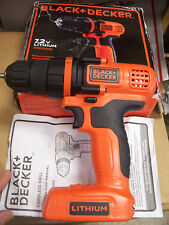 Black and Decker 7.2v LDX172C Drill ONLY NEW with paperwork + box NO CHARGER