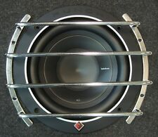 "GRILL PROTECTIVE BARS FOR 8"" / 20cm SUBWOOFER SPEAKER, GRILE, GRIL COVER, CHROME"