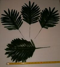 15 SILK PALM FERN  LEAF STEMS  FOR MAKING HOME FLORAL ARRANGEMENTS,FREE SHIPPING