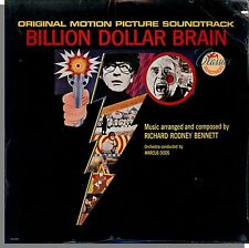 Billion Dollar Brain - New Richard Rodney Bennett Original Soundtrack LP Record!