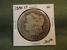 1890O G Morgan silver dollar, see store for more good coin deals 1890 O 1890-O