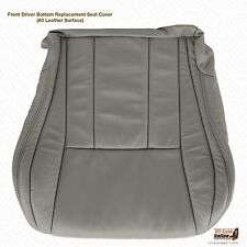 1996 To 2002 Toyota 4Runner Driver Bottom replacement Leather Seat Cover Gray