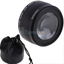 58MM 0.45x Wide Angle Lens with Macro for Canon EOS 1000D DSLR T1i T2i XTi XSi