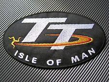 Isle of Man-TT nós-talla xxl --- Patch Patch --- talla 120 x 70 mm