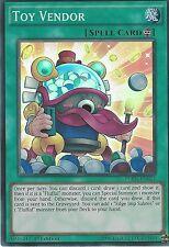 3x YU-Gi-Oh card: Toy Vendor-SUPER RARA-fuen-en024 1st Edizione