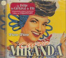 Carmen Miranda Tico Tico  CD New Nuevo