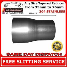 Any Size Tapered Tube Exhaust Connector Custom Reducer Stainless Steel T304
