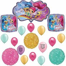 Shimmer and Shine Happy Birthday Sparkle Balloon Kit